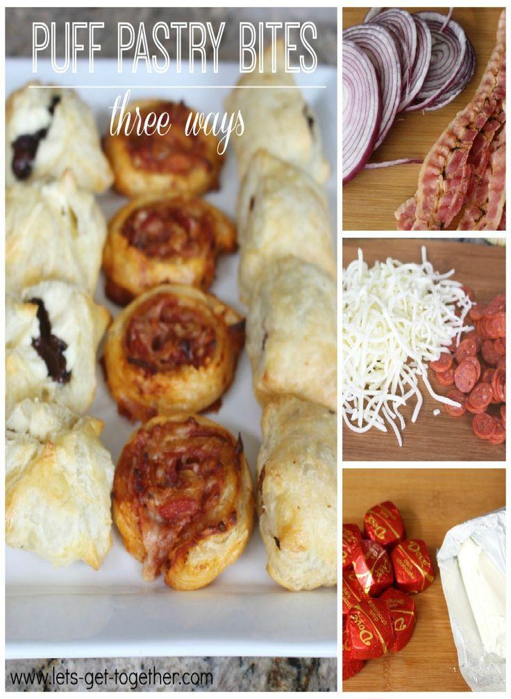 As 25 melhores ideias de canape food no pinterest for Puff pastry canape ideas