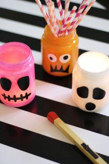Halloweenburkar