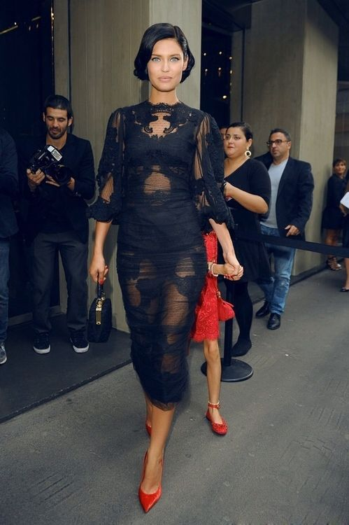 Dolce and Gabbana. Bianca Balti.