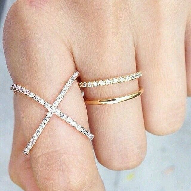 Pretty delicate rings