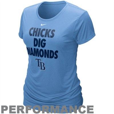 Tampa Bay Rays Chicks Dig Diamonds Shirt, so cute and so true.