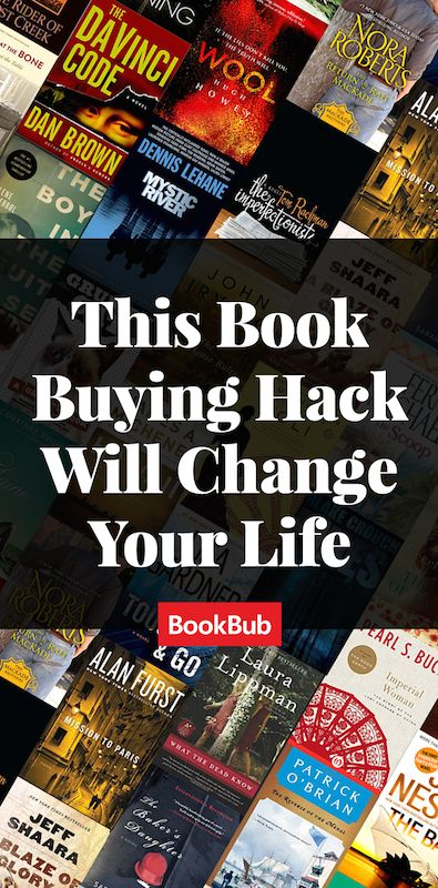 BookBub alerts you to limited-time free and discounted ebooks matching your interests. Go to BookBub.com/pin.