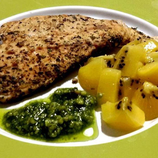 #howto #cook #delicious #chicken breast mixed #herbs my #recipe for #thanksgiving petto di #pollo alle erbette #foodblogger #instafood