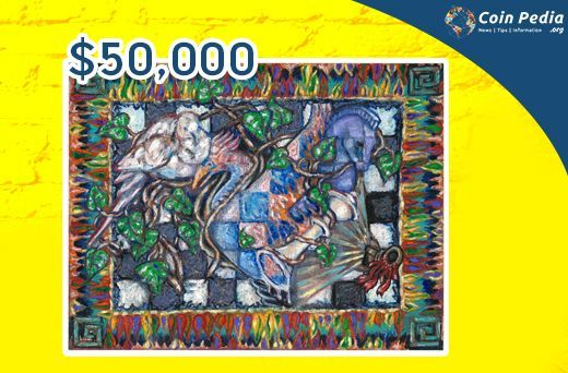 The Legend of Satoshi Nakamoto is a series of Bitcoin puzzle created to credit the creator. One those puzzles is a painting and is the third in the series