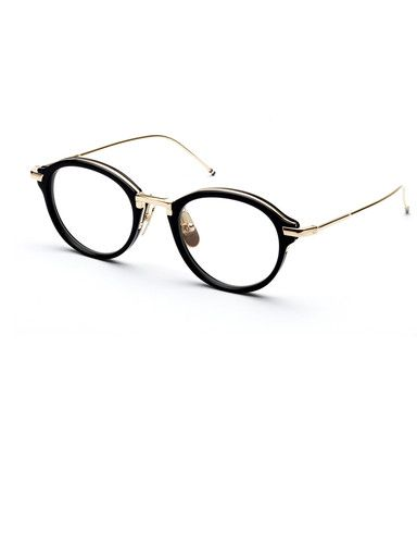 Thom Browne glasses frames. For the elegant, fashionable, quirky modern gentleman.