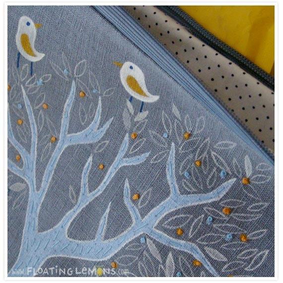 Hand made pouch. www.timitimitonga.blogspot.com