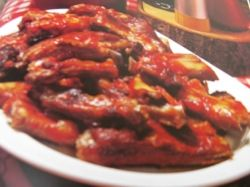 Barbecued Pork SpareRibs