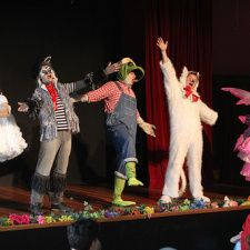 The Curious Garden - improve comedy for kids.  $5 suggested donation.  Second sunday of each month 10:30 AM
