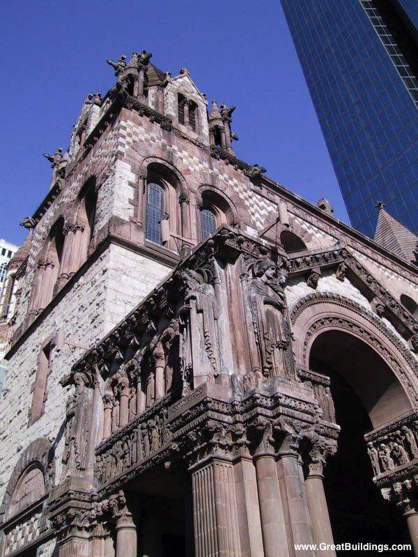 Trinity Church Boston - H H Richardson 1872 - 77