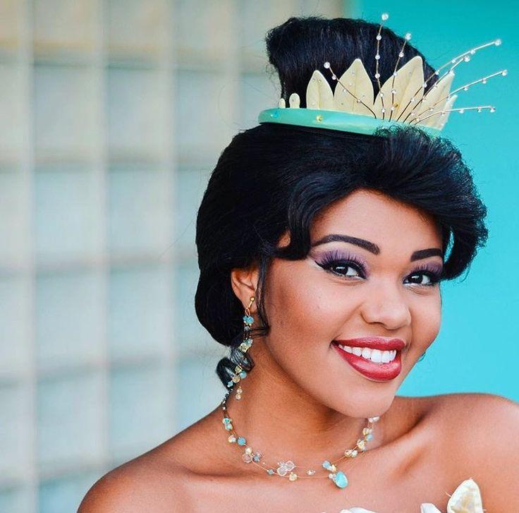 Princess Tiana Makeup: 122 Best Tiana Cosplay Images On Pinterest