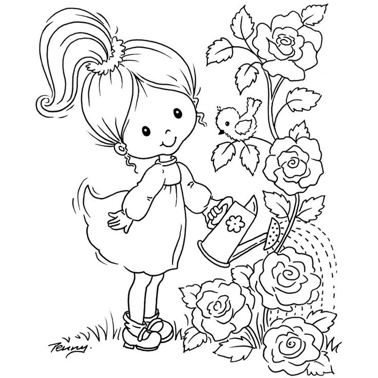 499992156305.jpg (1200×1200): Flowers Gardens, Drawings For, Doodles Art, Art Crafts, Hands Embroidery, Art & Crafts, To Paint, Drawing For, Embroidery People