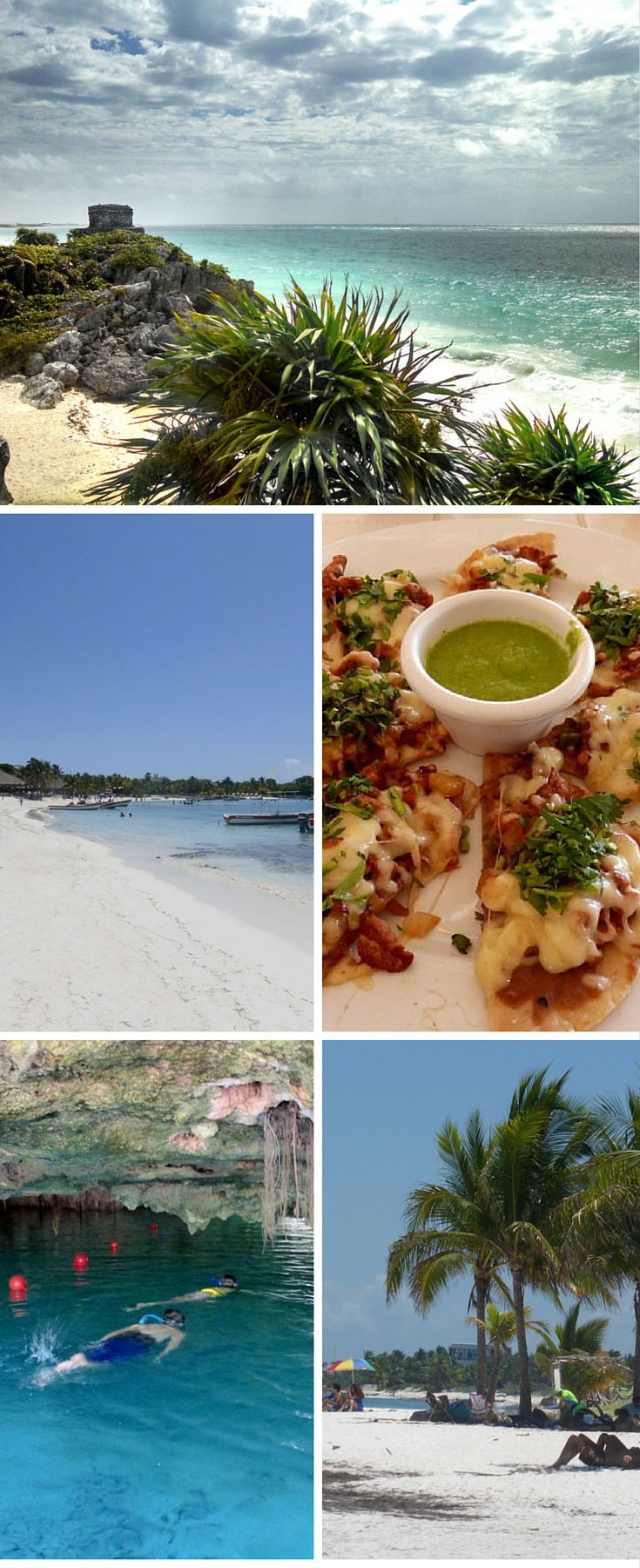 Playa Del Carmen Mexico Side Trips. White sandy beaches, turquoise water, Tulum ruins, the turtles of Akumal and amazing food all await you on a day trip from Playa Del Carmen. Get the most out of your Mexico Vacation. @venturists