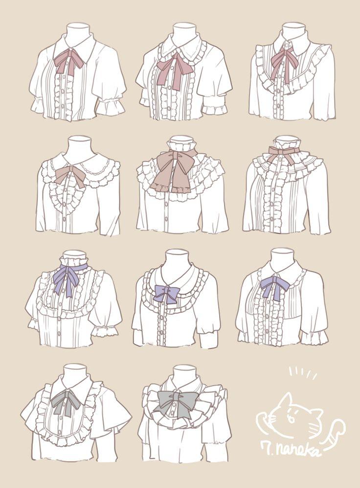 inspiration for lolita blouses