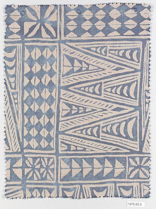 MELILLA - Vintage Fortuny cotton fabric