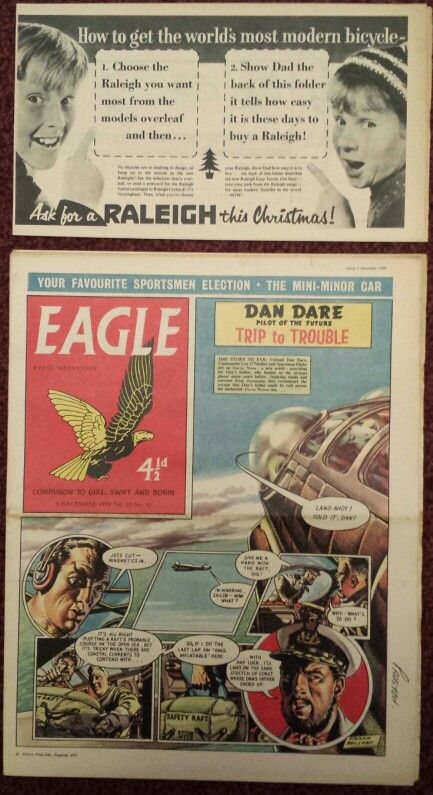Eagle Comics 1959 - With original flyers