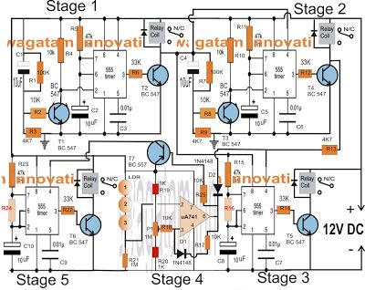 Programmable Timer Controller Circuit for Homemade Pellet Burner - Electronic Circuit Projects