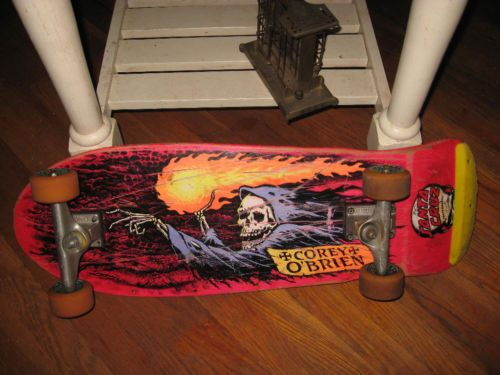 Corey O'Brien Santa Cruz Old School Skateboard Vintage
