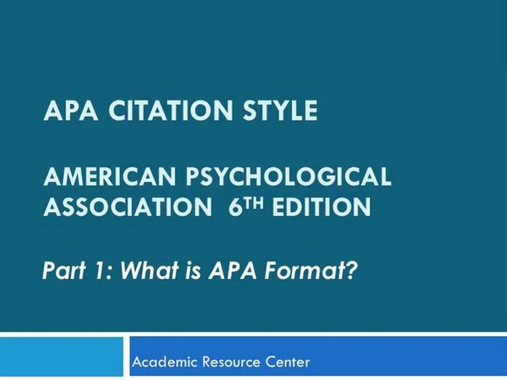 "This is ""APA 6th Edition Part 1 - What Is APA Format?"" by lmuits on Vimeo, the home for high quality videos and the people who love them."