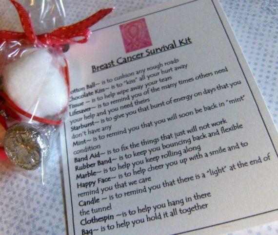 Breast Cancer Survival Kit | Cancer Awareness | Pinterest ...