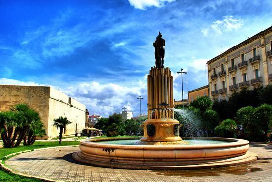 La fontana dell'armonia - LECCE - inserita il 07-Jan-13