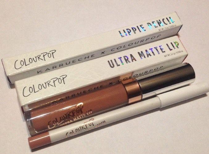 Colourpop Chi Ultra Matte Lip Stick And Liner #Colourpop
