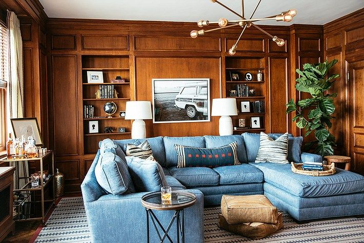 A Chicago Area Design Firm S Neo Traditional Interiors Family