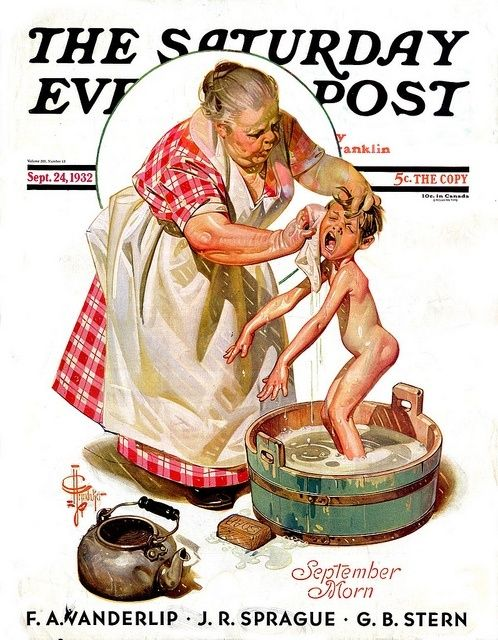 Saturday Evening Post  Illustrated by JC Leyendecker  September 1932 by meghan