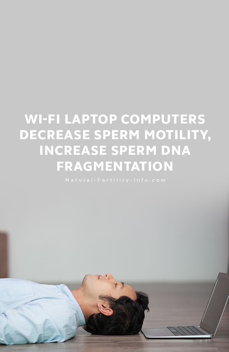 A recent study published by Fertility and Sterility, performed by doctors at the Center for Reproductive Medicine in Cordoba, Argentina, showed that Wi-Fi connected laptop computers decrease sperm motility, while increasing sperm DNA fragmentation.    #mensfertility #malefertility #fertilityformen #spermhealth #fertility #naturalfertility #NaturalFertilityInfo #NaturalFertilityShop