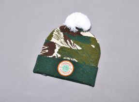 BP HIGHKERS POM BEANIE CAMO