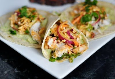 grilled fish tacos- They have the best ones at California Pizza Kitchen