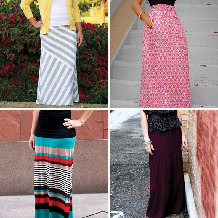 DIY Maxi Skirt Tutorials