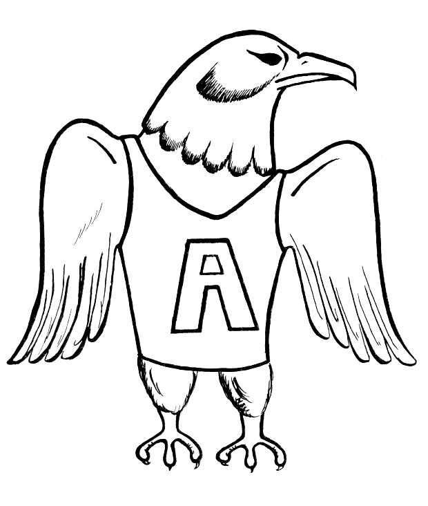 Printable Philadelphia Eagles Coloring Pages