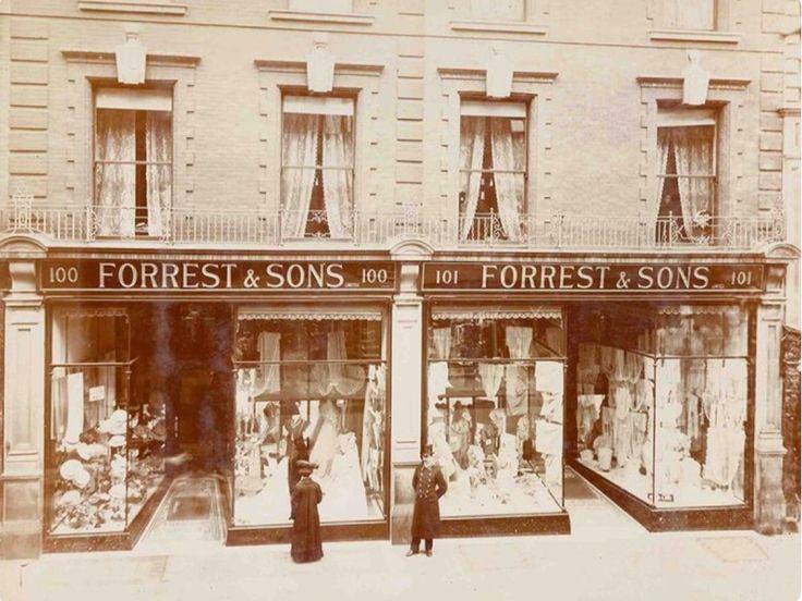 Forrest & Sons, 100 - 101 Grafton Street, in 1907