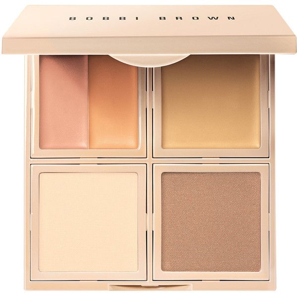 Bobbi Brown Essential 5-in-1 Face Palette Corrector & Concealer... (225 HRK) ❤ liked on Polyvore featuring beauty products, makeup, face makeup, palette makeup and bobbi brown cosmetics