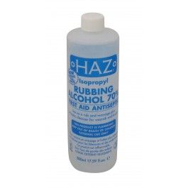 HAZ Rubbing Alcohol 70% 500ml PRICE: £1.99