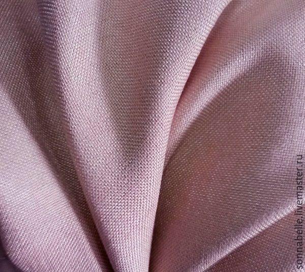 Купить или заказать Портьерная ткань под лен Розовый припудренный в интернет-магазине на Ярмарке Мастеров. Портьерная ткань для штор 'под лен' станет прекрасным дополнением интерьера в стиле эко, прованс, кантри, шебби-шик, а также современных минималистичных дизайнов и скандинавского стиля. Шторы под лен - это натуральные естественные цвета и очарование простых форм, они способны по-настоящему передать домашний уют и тепло и создать особый неповторимы стиль.