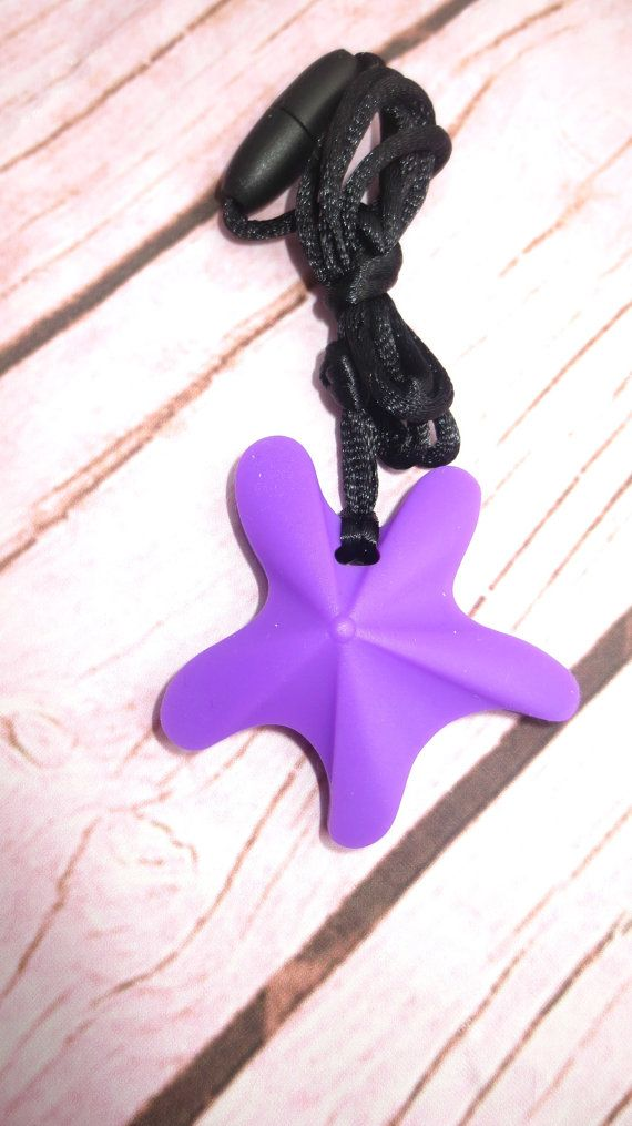 Starfish Food Grade Silicone Necklace Teething Necklace Silicone Teething
