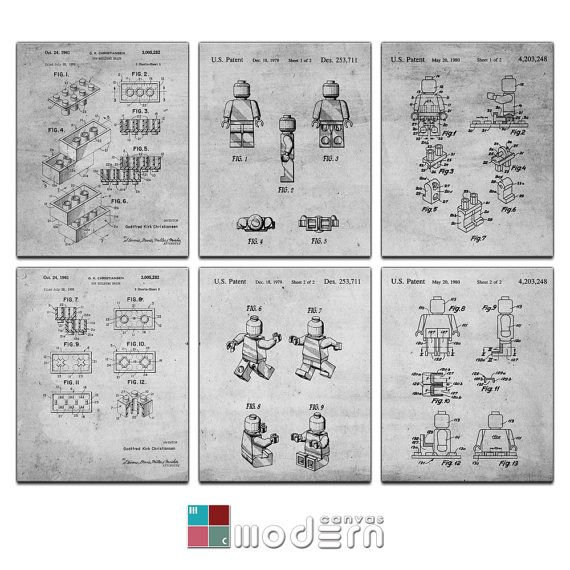 45 best the art of technical patent and architectural drawings ultimate lego blueprint patent design 6 panel by moderncanvas malvernweather Choice Image