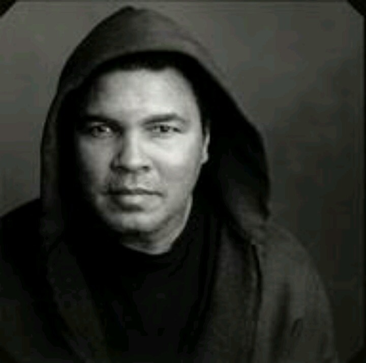 Love him Mahammed Ali  Remembering Treyvon martin 1 year anniversary of his death Hooded up Tears..