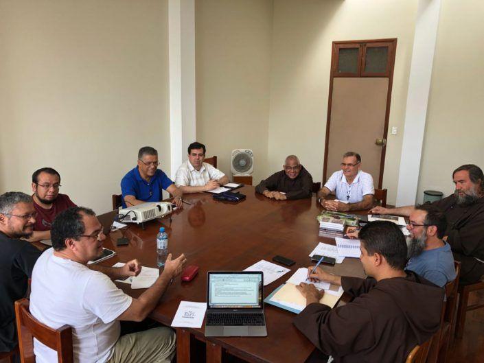 Los superiores mayores de los Capuchinos en Centroamérica, El Caribe y México se encuentran reunidos como Conferencia.