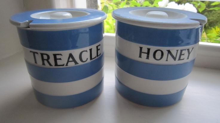 Honey & Treacle Condiment Pots.