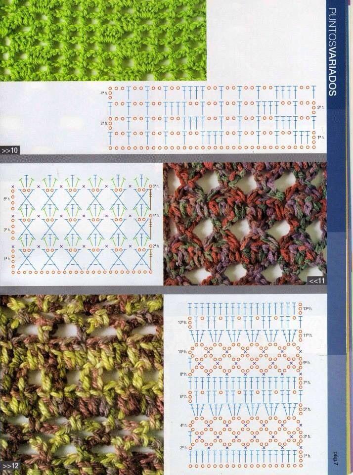 412 best CROCHET: Esquemas images on Pinterest | Patrones de ...