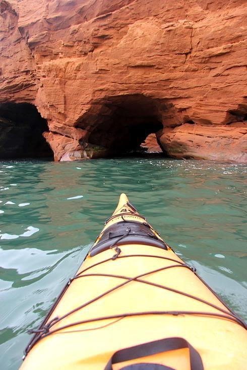 Îles de la Madeleine, kayak de mer