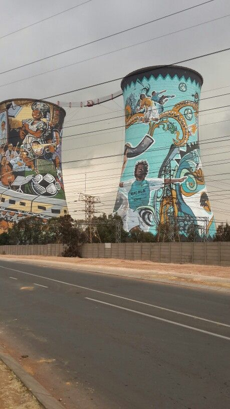 Best view of the Towers in Soweto