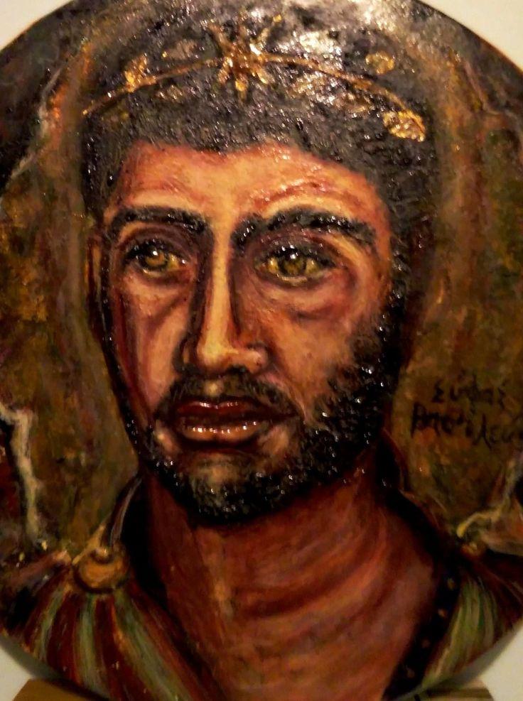 Siface Re di Numidia. Tondo ad encasto by P. Fundarò