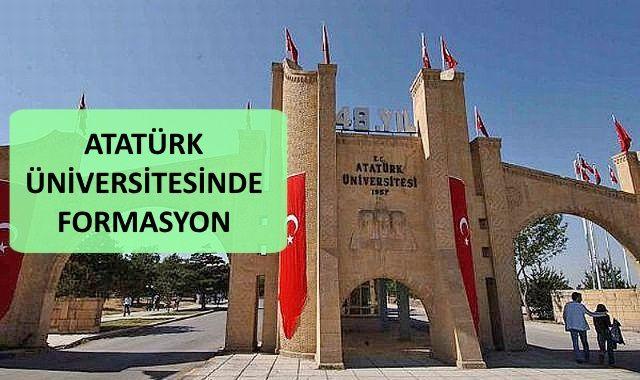 Atatürk Üniversitesi Formasyon