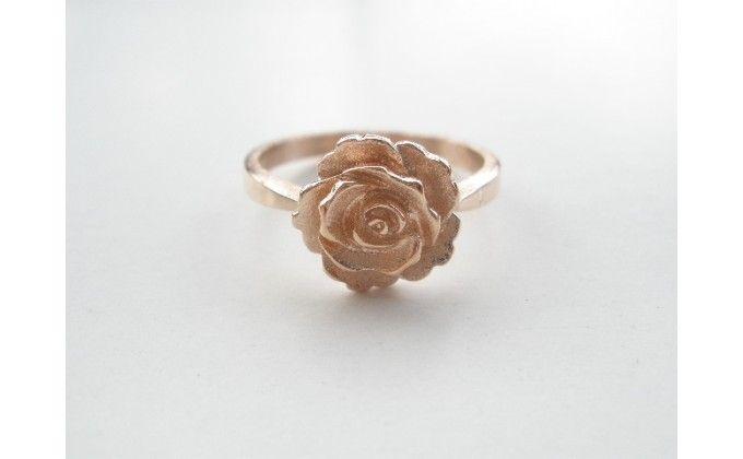 D 389 Handmade silver jewel ring