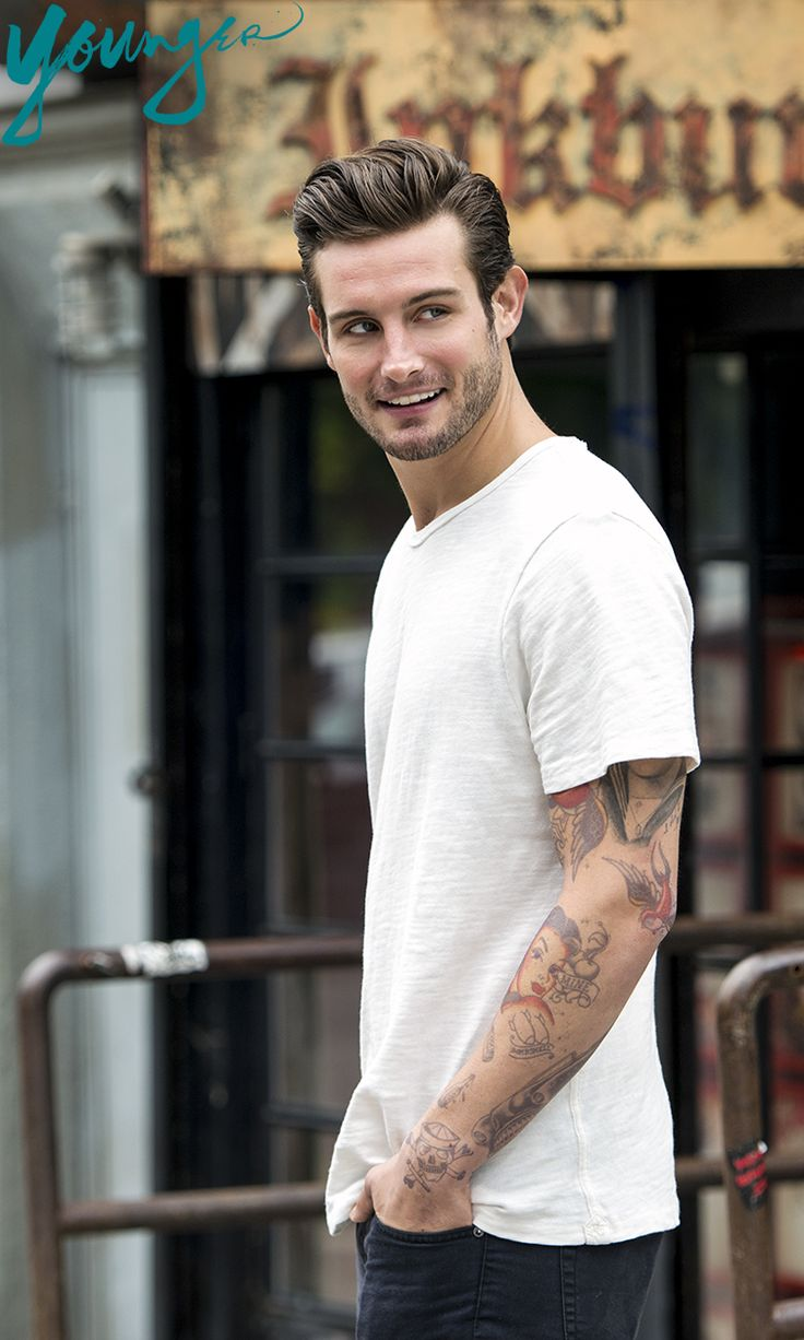 If this is in Brooklyn, we're on the next train. Get to know Nico Tortorella in the new series 'Younger' filmed on location in NYC and Brooklyn. Click for a sneak preview!