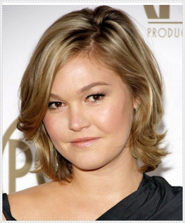 25 best Medium Hairstyles For Round Faces images on Pinterest ...