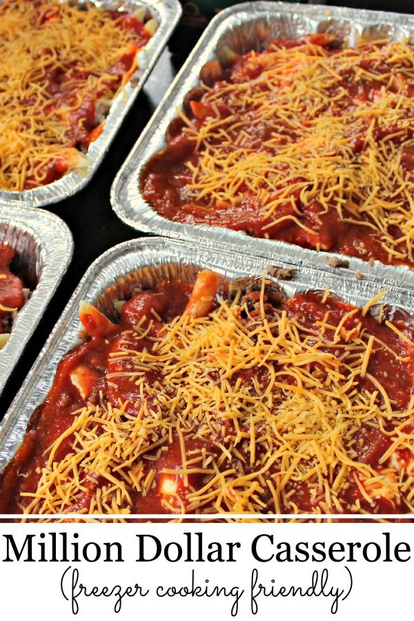 Try this easy casserole dish for dinner tonight or freeze it for later!